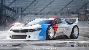 Bmw I8 Drift - retro render bmw i8 as m1 procar