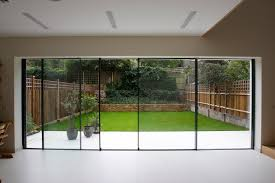 Bifold Patio Doors Large Glass Bifold Patio Doors In A Modern Design Jpg