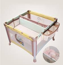 style luxury multifunctional baby bed portable folding baby
