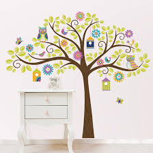 Owl Wall Sticker Owl Tree Wall Decal Roselawnlutheran