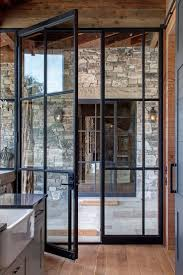 Hinged French Patio Doors by Single Glass Patio Door Image Collections Glass Door Interior
