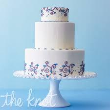 wedding cake blue purple tiffany blue and purple wedding cake