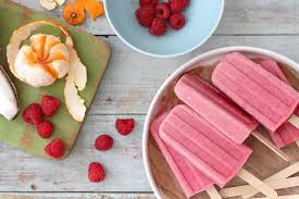fruit treats frozen treats tropical fruit punch popsicles simple bites