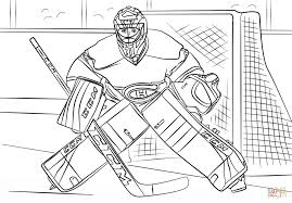 carey price coloring page free printable coloring pages