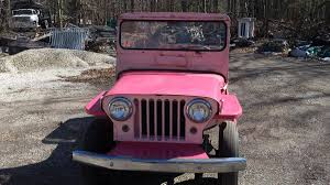 pink jeep 2 door 1963 willys jeep for sale 2041371 hemmings motor news