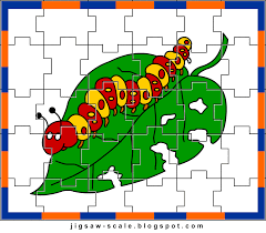 printable jigsaw puzzle for kids caterpillar jigsaw