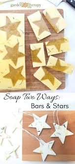 Rosemary Lemon Soap on a Rope Stars and Bars