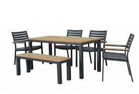 6 seater outdoor dining table corfu outdoor dining furniture outdoor teak and aluminium furniture