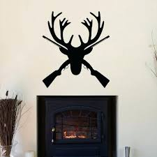 deer antler home decor deer antler decorating ideas deer antlers wall decal rustic deer