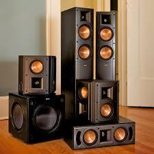 klipsch quintet home theater system standard home cinema system indoor 5 1 rf 42 ii klipsch