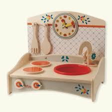 dida mini cuisine bois décor bleu cuisine jouet en bois pour