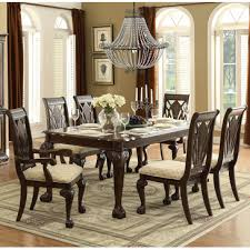 7 pc dining room set homelegance norwich 7 dining room set in warm cherry