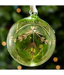 personalized birthstone ornaments engraved oval glass ornament christmas