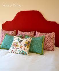diy fabric covered king size headboard hometalk