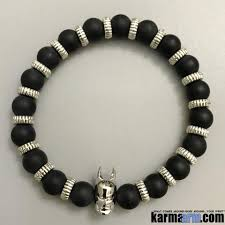 beaded black bracelet images Mens bracelets chakra yoga beaded mala black onyx luxury jewelry jpg