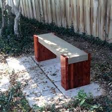 outdoor concrete bench plans outside benches patio furniture