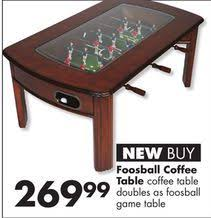 Foosball Table For Sale Foosball Coffee Table From Big Lots 269 99 U003e A Little Of This A