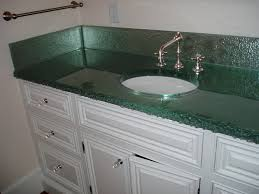 Countertop Bathroom Sinks Fusion Glass Countertop Brooks Custom