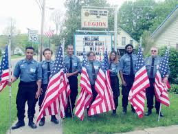 The Flag Of New York Flags Already Flying As Cassadaga Gets Ready For Memorial Day