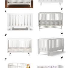 modern white baby crib u2013 shop the nursery u2013 edyta u0026 co interior