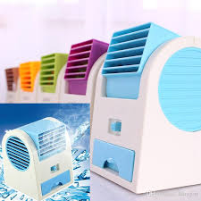 fan that uses ice to cool 2018 portable hand held usb mini cool fan with two outlet air