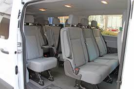 Ford Van Interior Ford Transit 350 Xlt 15 Passenger Lowtop Van