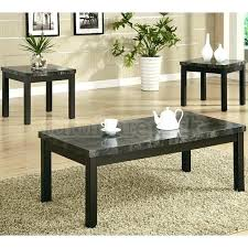 3 piece coffee table set faux marble 3 piece coffee end tables furniture of 3 piece faux