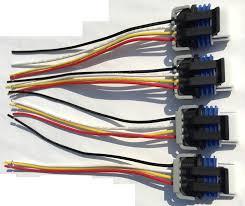 lexus v8 wiring loom amazon com ignition coil connectors wiring harness ls2 ls3 ls7