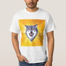 Meme Courage Wolf - courage wolf t shirts shirt designs zazzle