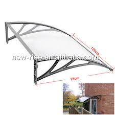 outdoor garden wall mount door window canopy awning rain shelter