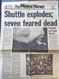 space shuttle challenger exploded 30 years ago over florida with