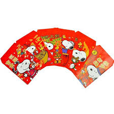 new year money bags peanuts snoopy small new year lucky money envelopes 6