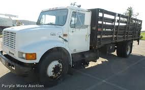 2000 international 4900 flatbed truck item da3934 sold