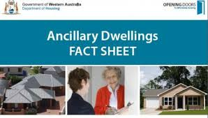 renting a granny flat ancillary dwelling department of mines