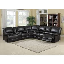 Black Leather Living Room Sets Furniture White Sectional Sofas Cheap With Tufted Ottoman For