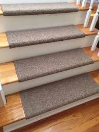 almond bisque true bullnose carpet stair tread cover with stair
