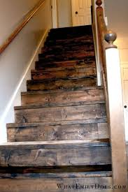 Best Paint For Stair Banisters Best 25 Rustic Stairs Ideas On Pinterest Industrial Basement