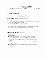 psw cover letter fresh personal support worker sle resume resume sle