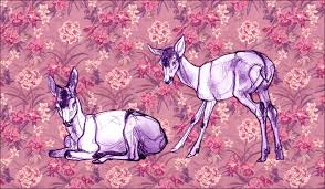 deer sketches by theurbanfox on deviantart