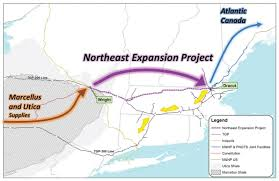Tennessee Time Zone Map What Is The U0027northeast Energy Direct U0027 Pipeline Project Nashoba