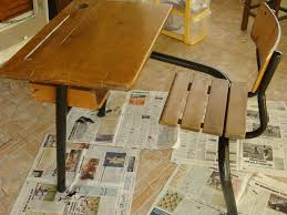 bureau écolier relooké bureau écolier au sous bois de biane