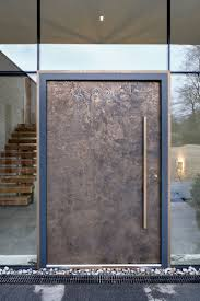 Full View Exterior Glass Door by Best 25 Modern Front Door Ideas On Pinterest Modern Entry Door