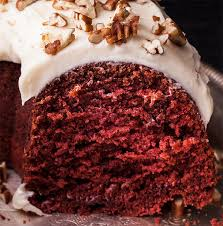 red velvet bundt cake with cream cheese frosting recipe chowhound