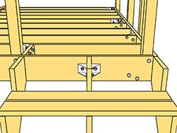 decklok advanced lateral anchor system decklok deck bracket
