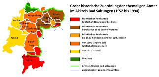 Bad Salzungen Geschichte Des Altkreises Bad Salzungen Henneberg Itzgrund