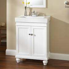 24 lander vanity white bathroom