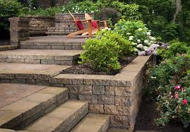 decorations landscaping hill ideas backyard hill landscaping
