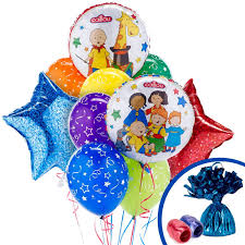 plan party caillou birthday party ideas
