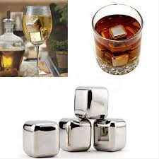 Soapstone Whiskey Aliexpress Com Buy 4pc Stainless Steel Ice Cubes Ice Stones