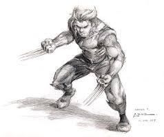 wolverine sketch by ryanbnjmn on deviantart